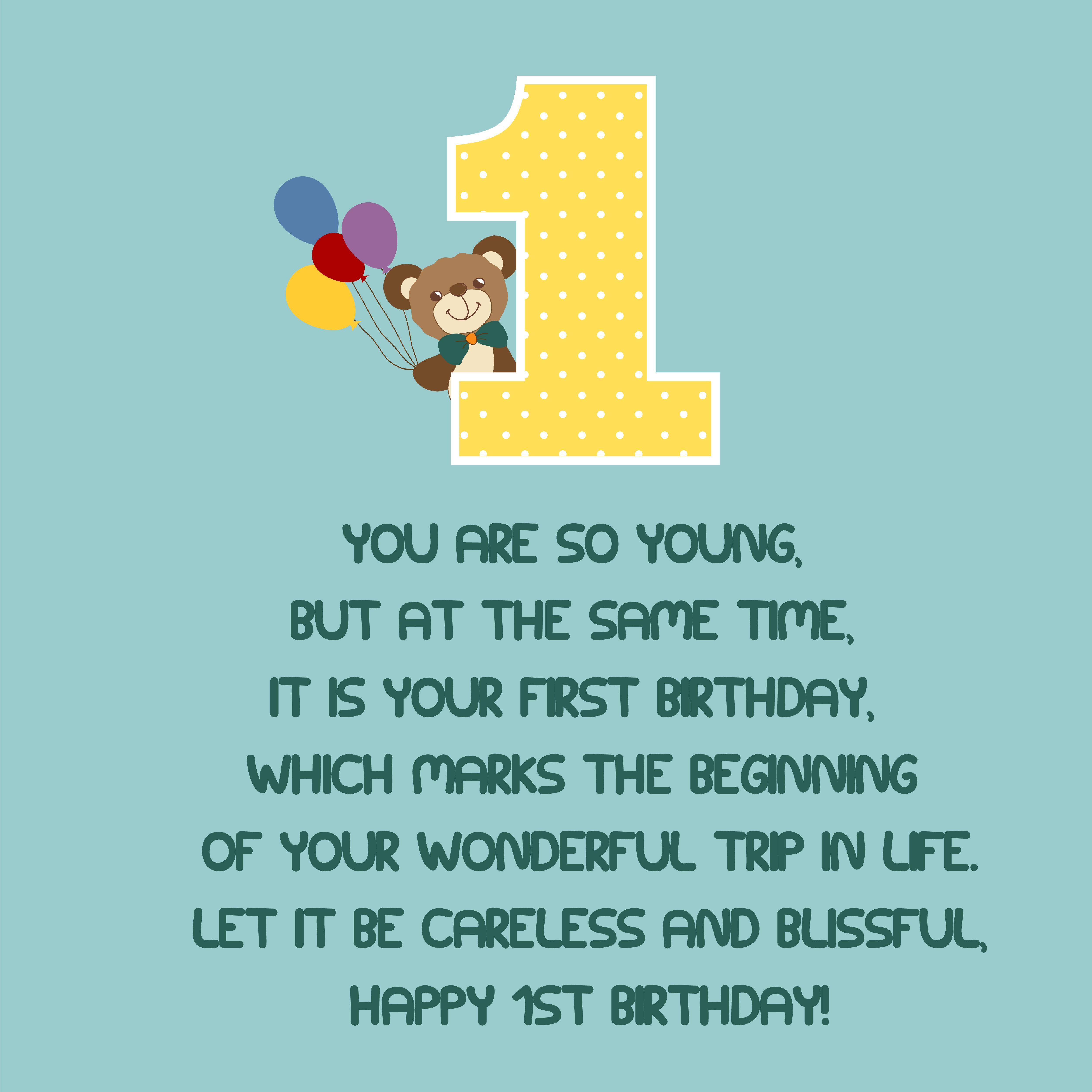 Happy First Birthday The Best Happy First Birthday Quotes First Birthday Quotes 1st Birthday Quotes Birthday Boy Quotes