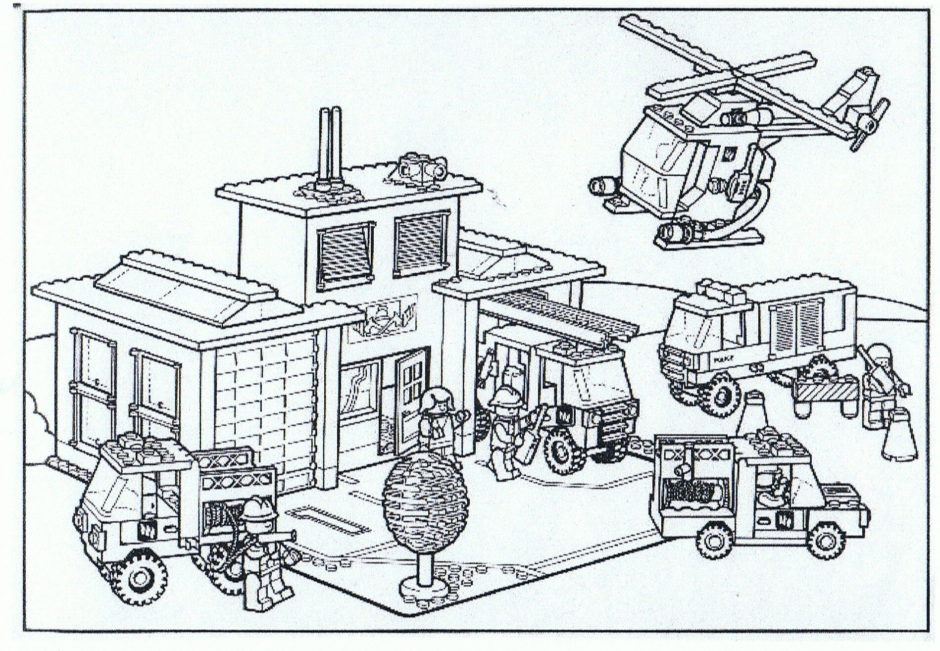 Pin By Arek On Dokter Logo 3000 4 Lego Coloring Pages Lego Coloring Lego Police Station