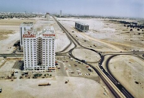 Dubai Defence Round About In 1990s Where Dubai Mall Is Today Dubai 1990 Dubai Dubai Travel