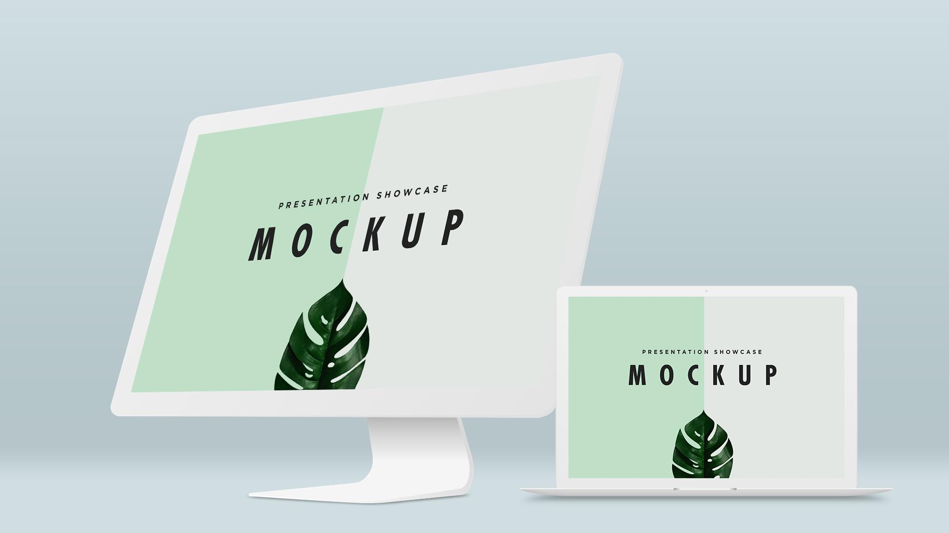 Macbook pro imac mockup template | Mockup | Pinterest
