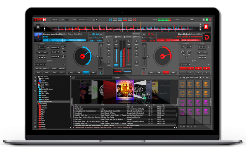 Dj Software Virtualdj Skins Numark Mixtrack Pro Ii Dj Buy Videos Software