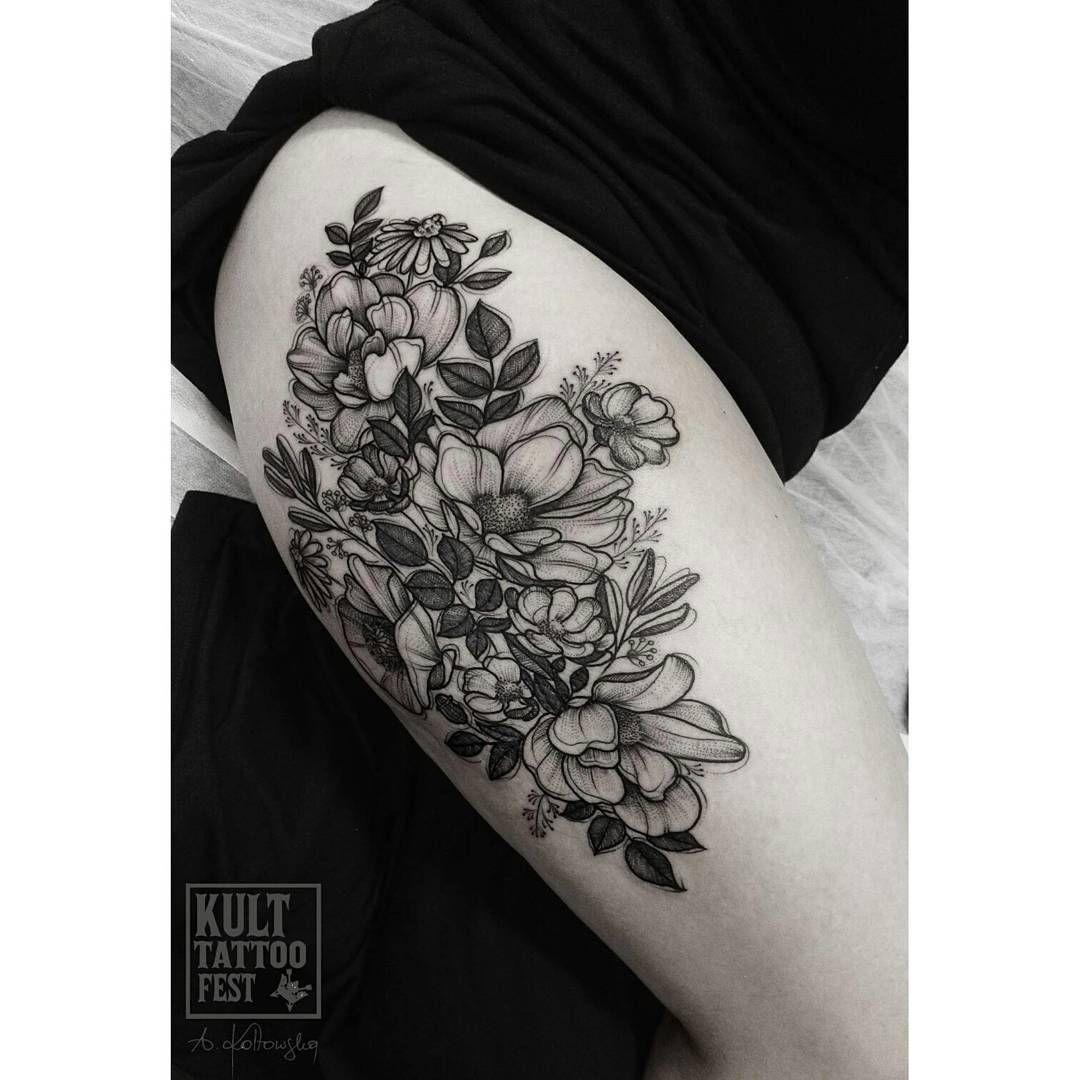 Tattoo tattooed inkedworld blackwork blacktattoo darkart