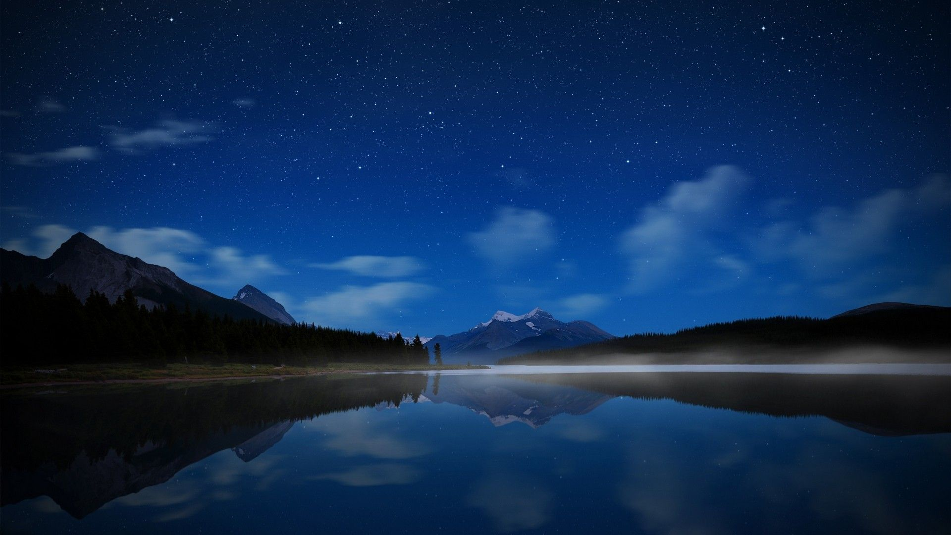 1920x1080 Hd Nature Wallpapers Hd Wallpapers 1920x1080 Nature Maligne Starry Sky Hd Nature