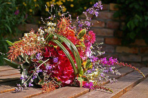 Blumenstrauß, Bunter Blumenstrauß