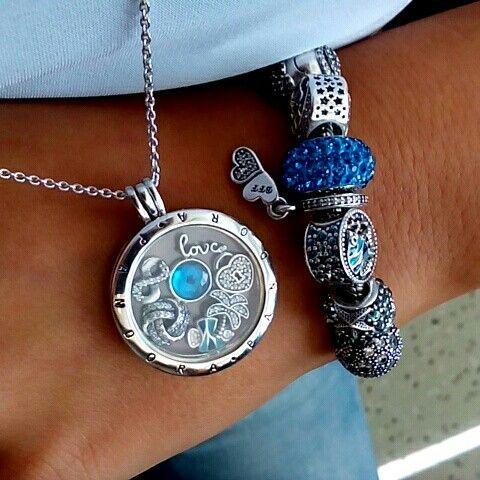 7749bd3ad Blue Pandora <3 Pandora Beads, Pandora Bracelet Charms, Pandora Rings,  Pandora