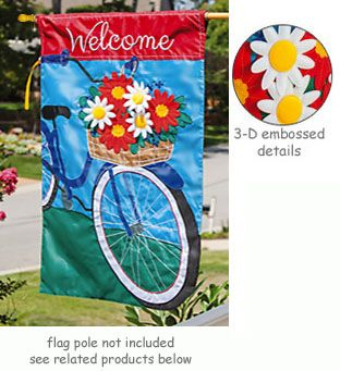 Summertime Bicycle Flag Flag Bicycle Summertime