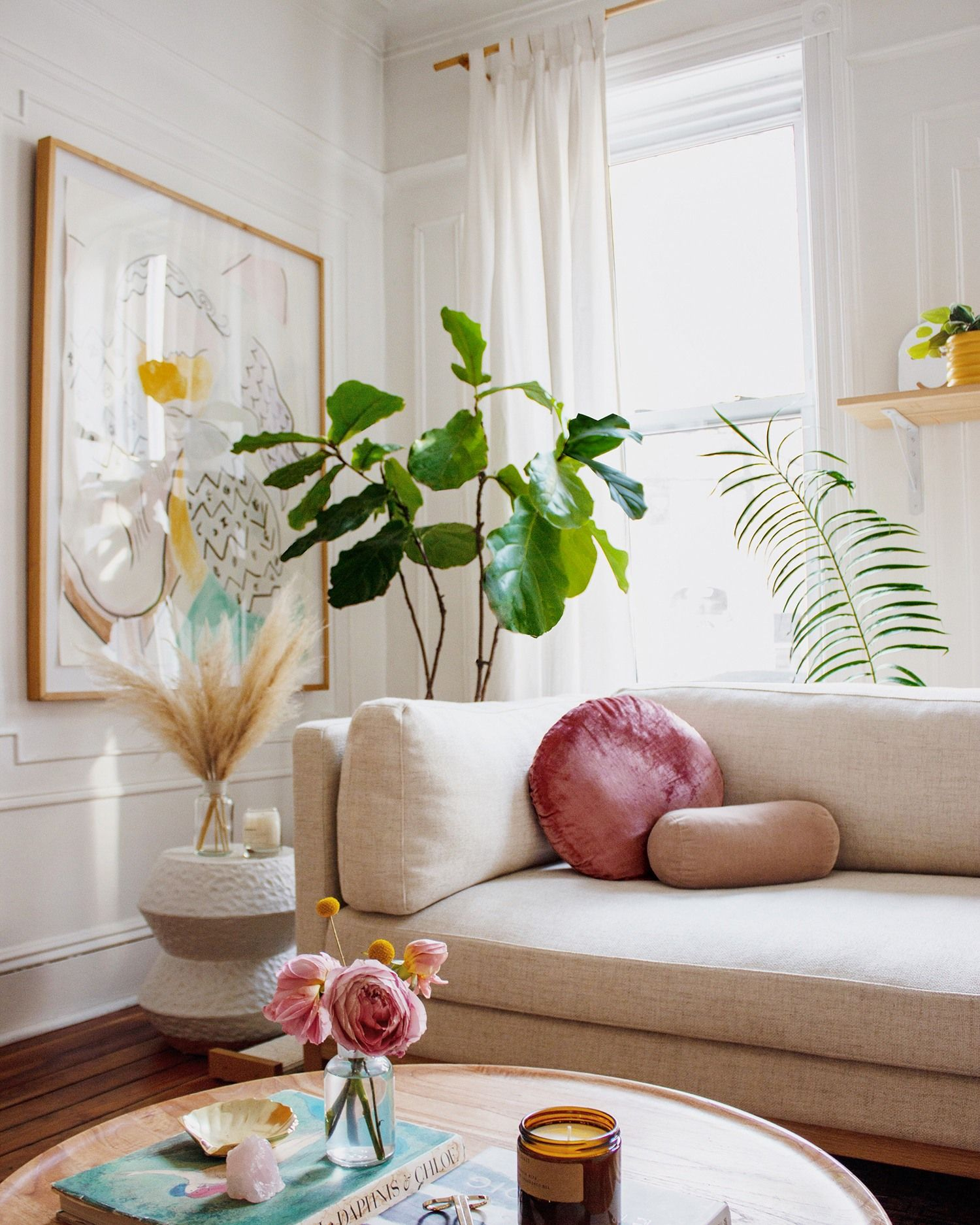 Incroyable  Mot-Clé Mallory Fletchall's Living Room Just Got a Sophisticated Makeover ...