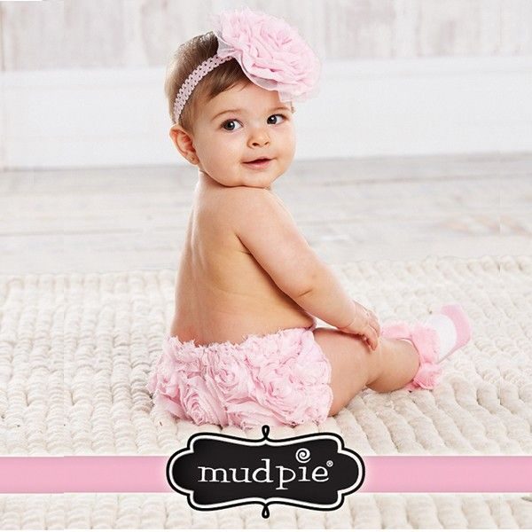 Mud Pie Baby-Girls Newborn Mia Sock