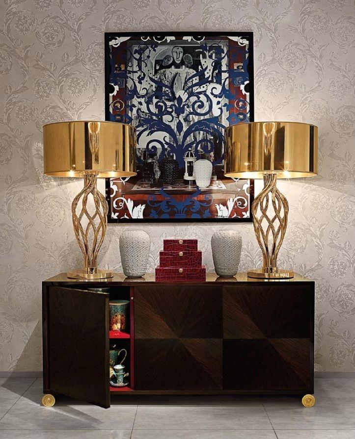 Vanitas Swirl Table Lamp #versace #versacehome