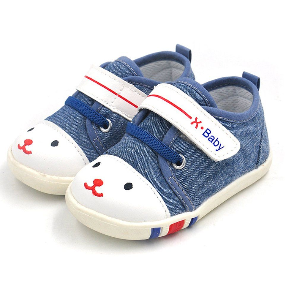 HLM Baby Shoes For Women Babies Girl Boys Sneakers Canvas Casual Blue Pink  Gray 6 12 24 Months Size 4 5 6 7 8 9 10 11 Size 5.311521 Months 1. 3d21f283b