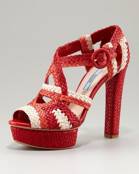 Prada's high heels tips,
