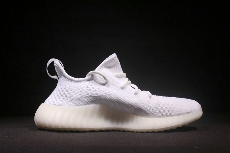 11469ffebfb May 2017 Cheap High Quality New Style 2017 Unisex Adidas Yeezy Boost 350 V2  Triple White