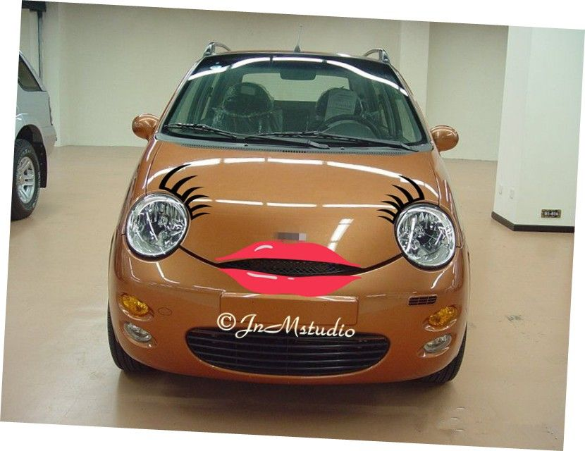 Car Eyelashes Get Flirt On Your Carfind Great And Beautiful Car
