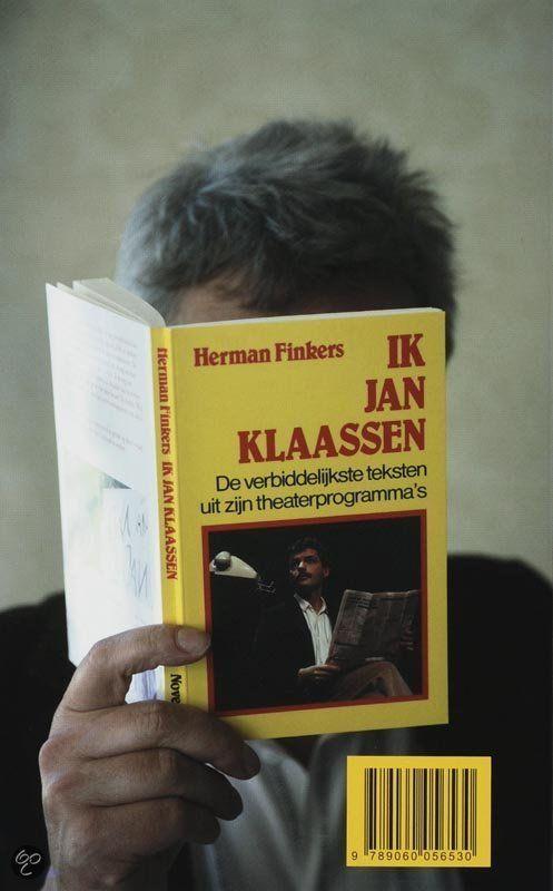 Ik Jan Klaassen Boek Van Herman Finkers Herman
