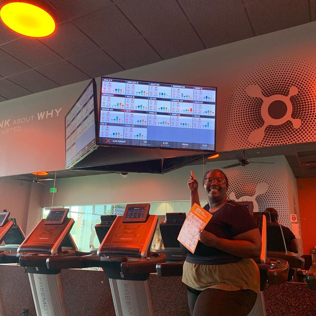 Loving Orangetheory 🍊! Here's why... 🍊lost 8 pounds in 3 weeks 🍊meet new people 🍊 coaches are Amazin...
