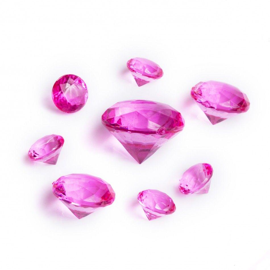 Assorted Sizes Table Diamond Decor - Fuchsia [22260.74 Fuchsia Table ...