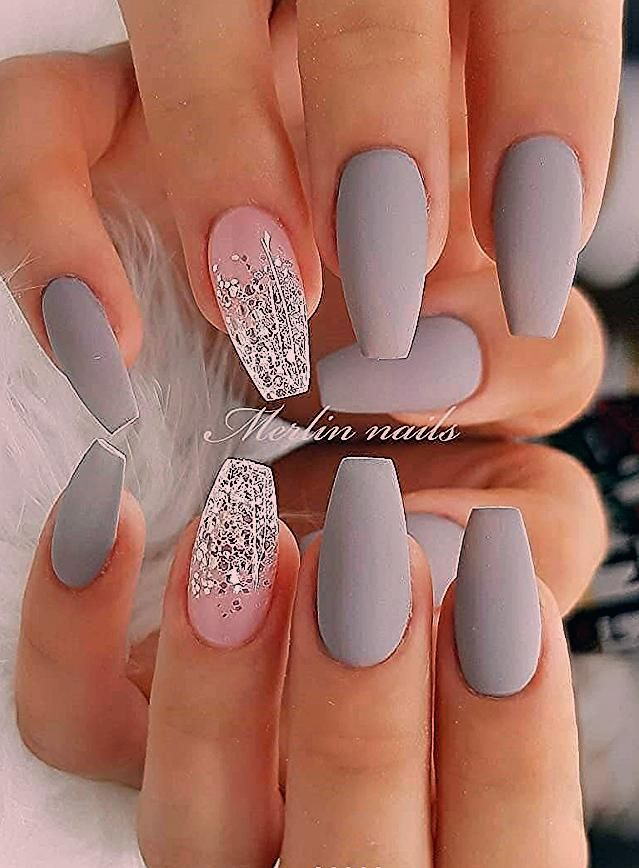 Photo of 30 Fabulous Matte Nails Design For Short Nails – Page 9 of 30 – Latest Fashion Trends For Woman