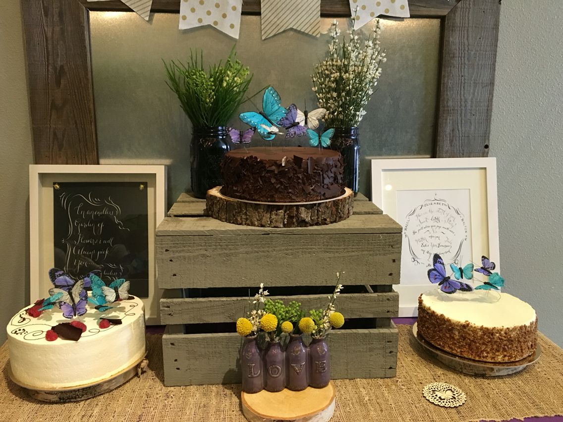 14+ Butterfly theme cake table ideas in 2021
