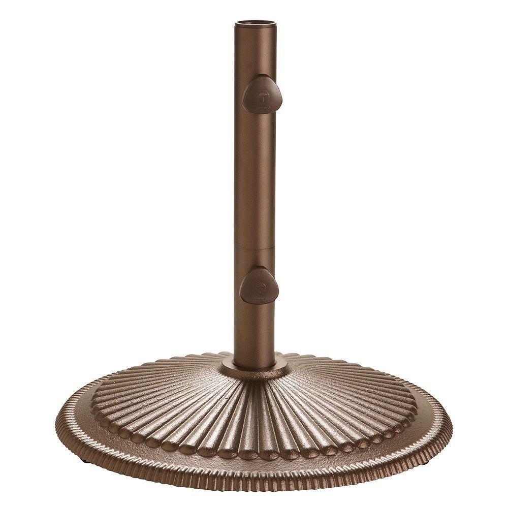 Home Decorators Collection Classic Market Umbrella Base in Bronze ...