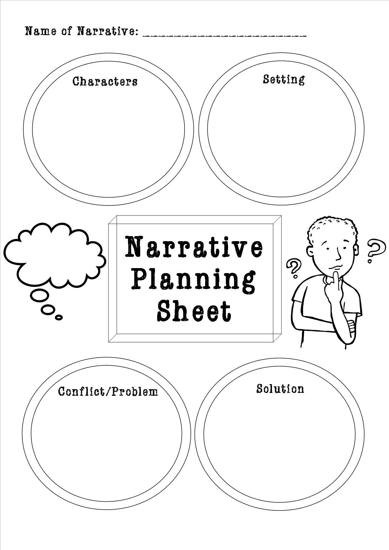 narrative writing planning sheet Writing assignment fra mework and overview  tools for planning and reflection  writing assignment framework and overview are the result of 1:3¶v third study.