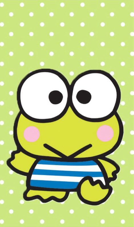 Keroppi Coloring Page Hello Kitty