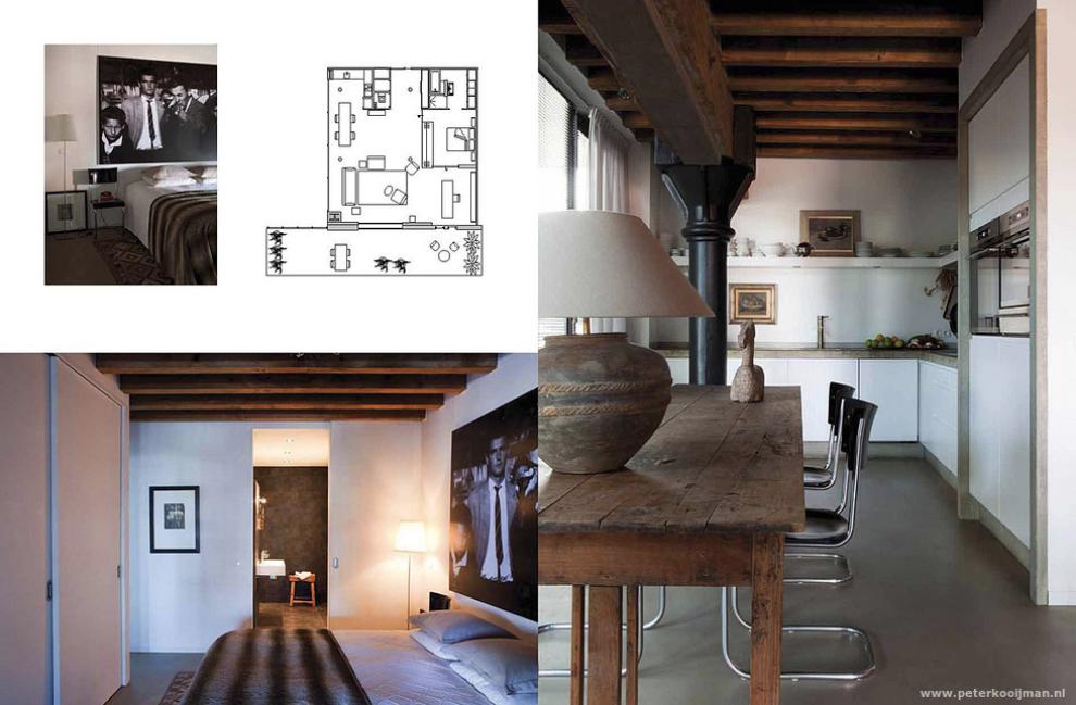 Boek: Loft interieurs - Pakhuis St. Job Rotterdam