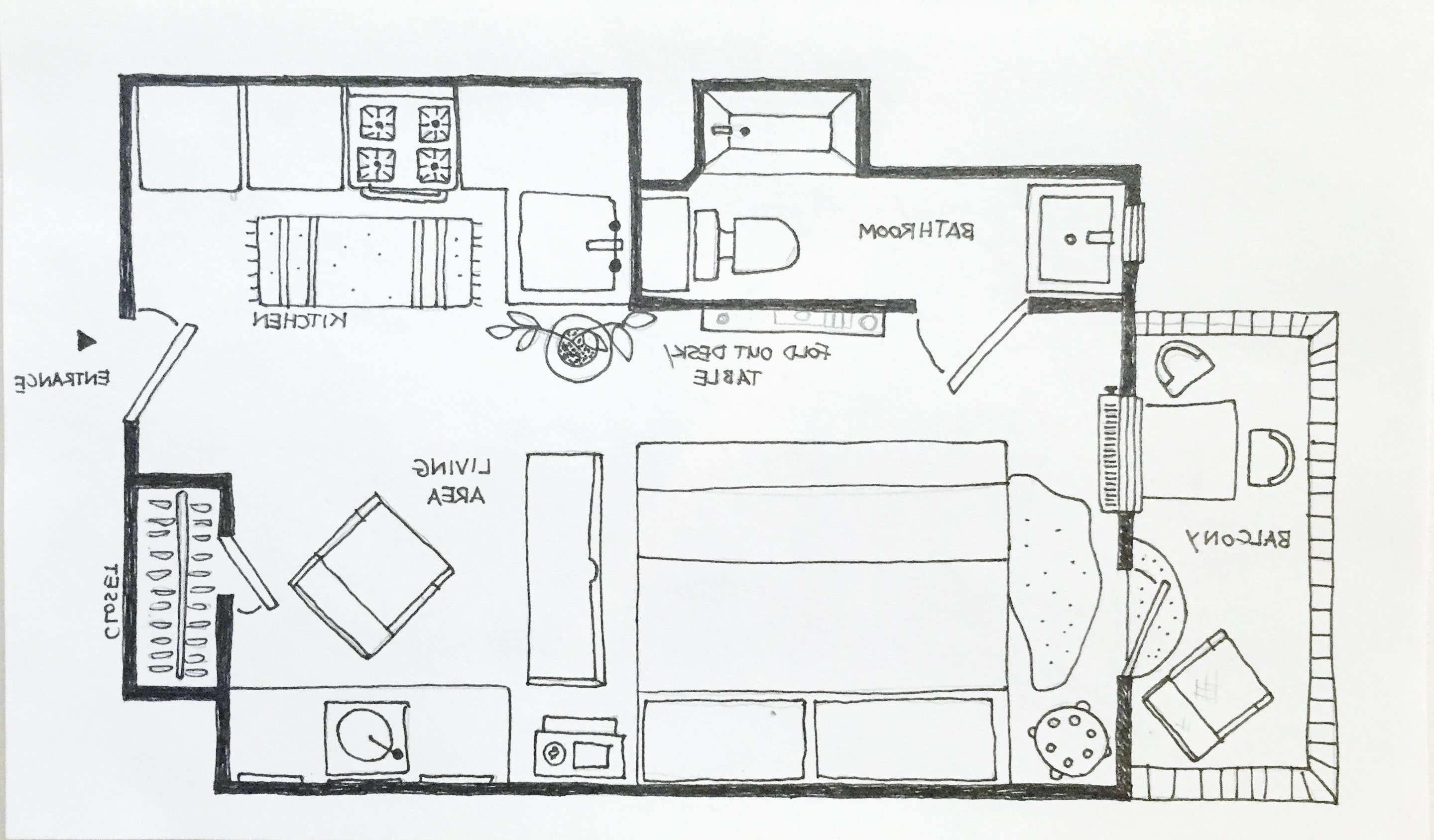 Unique Amenager Studio 20m2 Plan How To Plan Studio Floor Plans