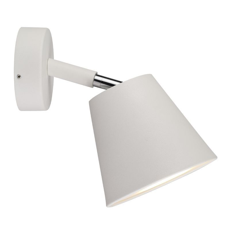 Nordlux IP S6 Wall Light With Shade - White | Nordlux Wall Lights ...