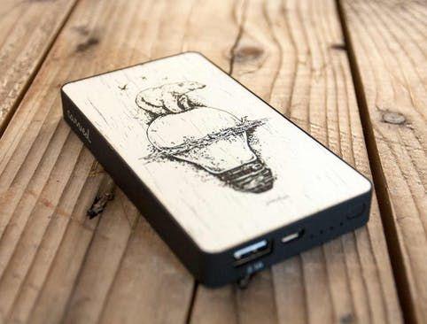 Wood Power Bank | Custom Wood Phone Cases. Covers & Skins for Apple iPhone. Samsung Galaxy. Nexus | Powerbank. Wood phone case. Power