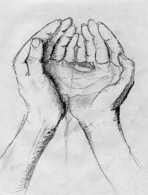 Hands Holding Something Drawing : hands, holding, something, drawing, Hands, Holding, Water, Within, Reflection,, Speak.., Hands,, Drawing,