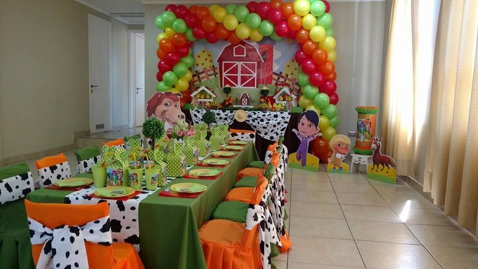 Resultado De Imagen Para La Granja De Zenon Cumpleanos Boy Birthday Parties Birthday Parties Boy Birthday Party