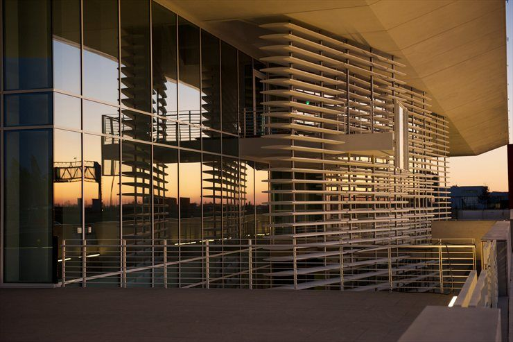 Italcementi I Lab In Bergamo Italy By Richard Meier Partners