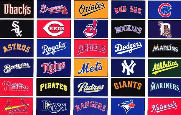 Baseball logos and names