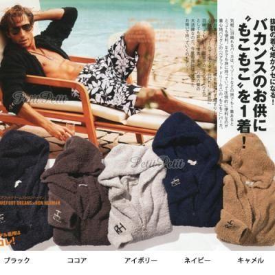 人気 ロンハーマン別注barefootdreams メンズパーカー 5色 ロンハーマン メンズ メンズ パーカー メンズ
