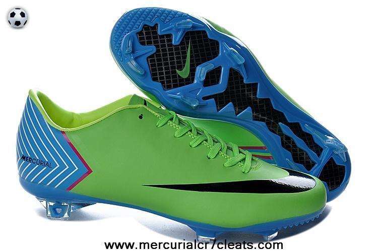 d46cb40c2b64 Green Black Nike Mercurial Vapor X FG For Wholesale | Nike Mercurial ...