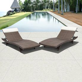 international home set of 2 atlantic mesh seat aluminum patio
