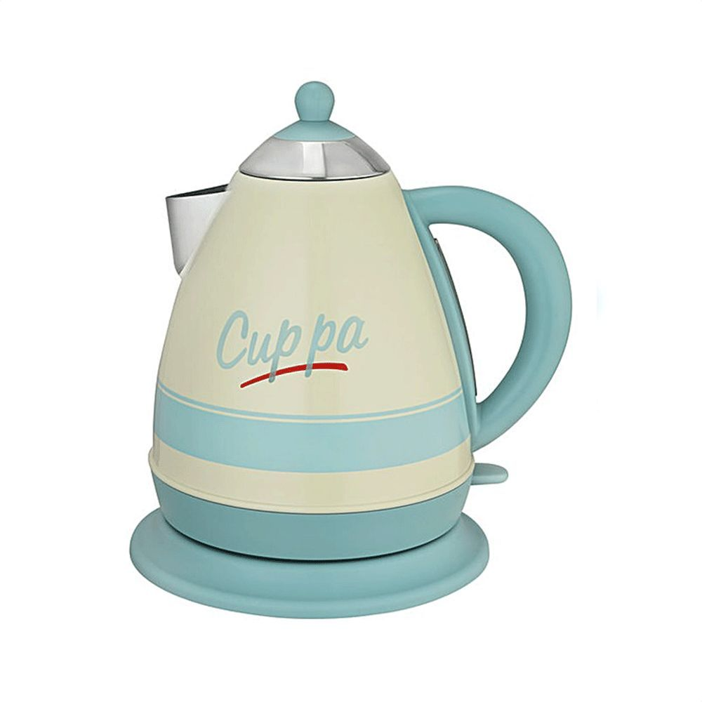Kitchen+Originals+Pastel+Script+\'Cuppa\'+Kettle | Ivory highgloss ...
