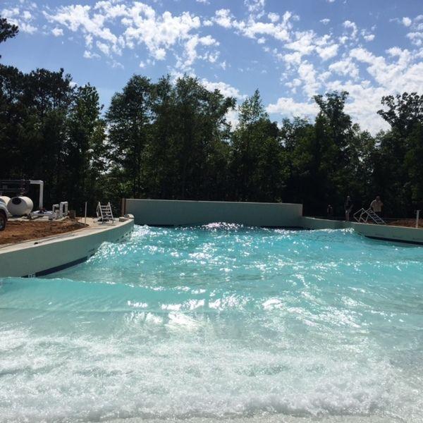 Sandy Beach Water Park Wave Pool Warner Robins Ga