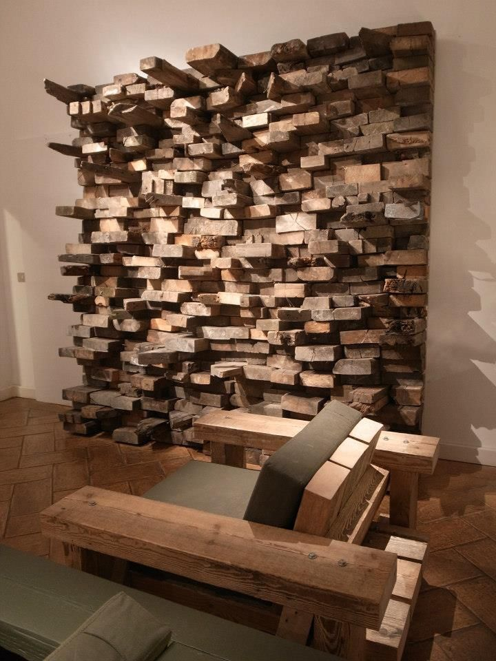 awe inspiring stacked wood wall design stack wall display decor ideas free home designs photos ideas - Wood Wall Design Ideas