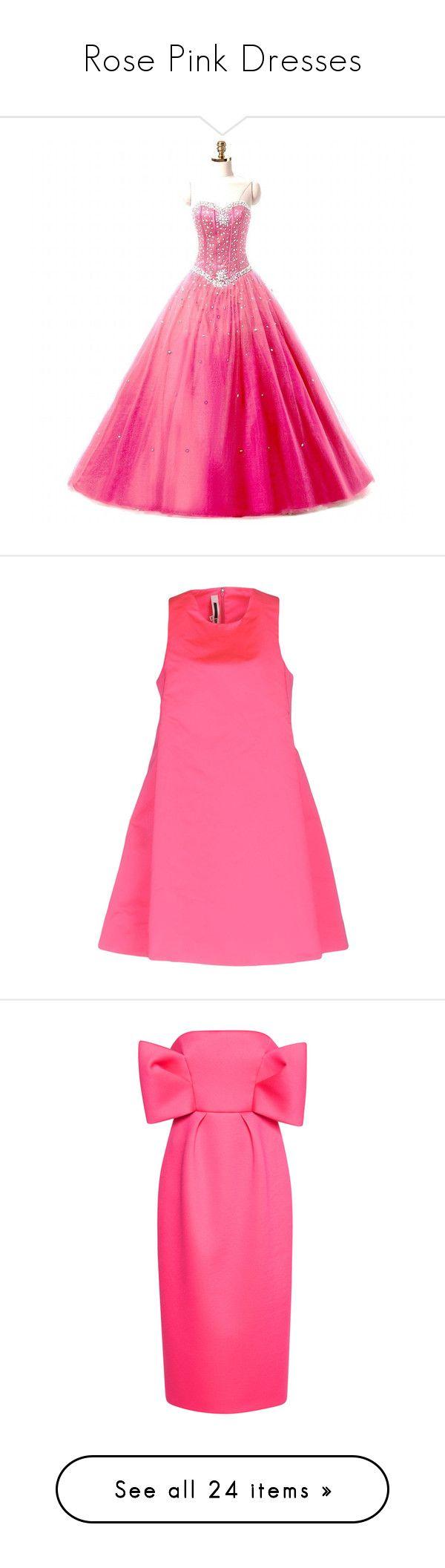 Rose Pink Dresses\