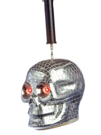 Skull Disco Ball - Fog/Lighting Effects at FrightCatalog