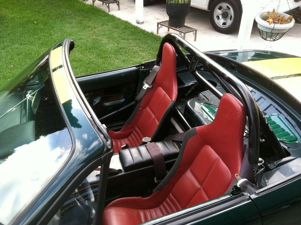 Mazda Mx5 With Lotus Exige Seats Fitted Mazda Mx5 Miata Mx5 Mazda Miata