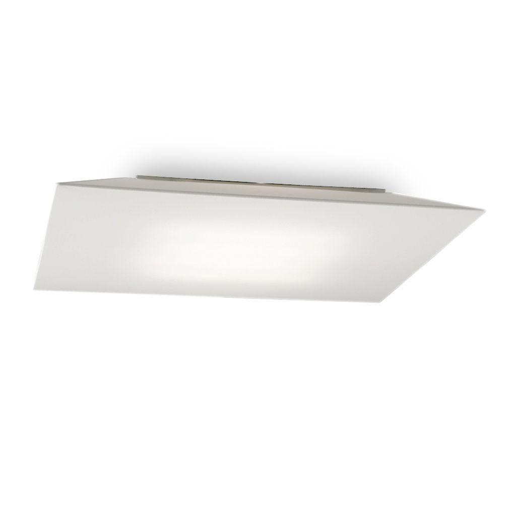 Plaf N Techo Grande Cuadrado Block Tela 60 X 60 Fm Ole Led  ~ Plafones Fluorescentes Para Cocina