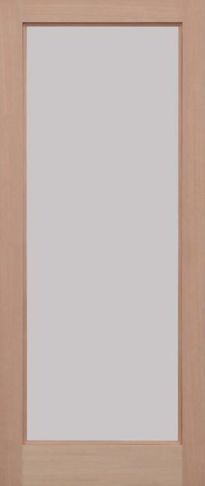 Leeds Doors Pattern 10 Unglazed Door 78x24 Hemlock Internal