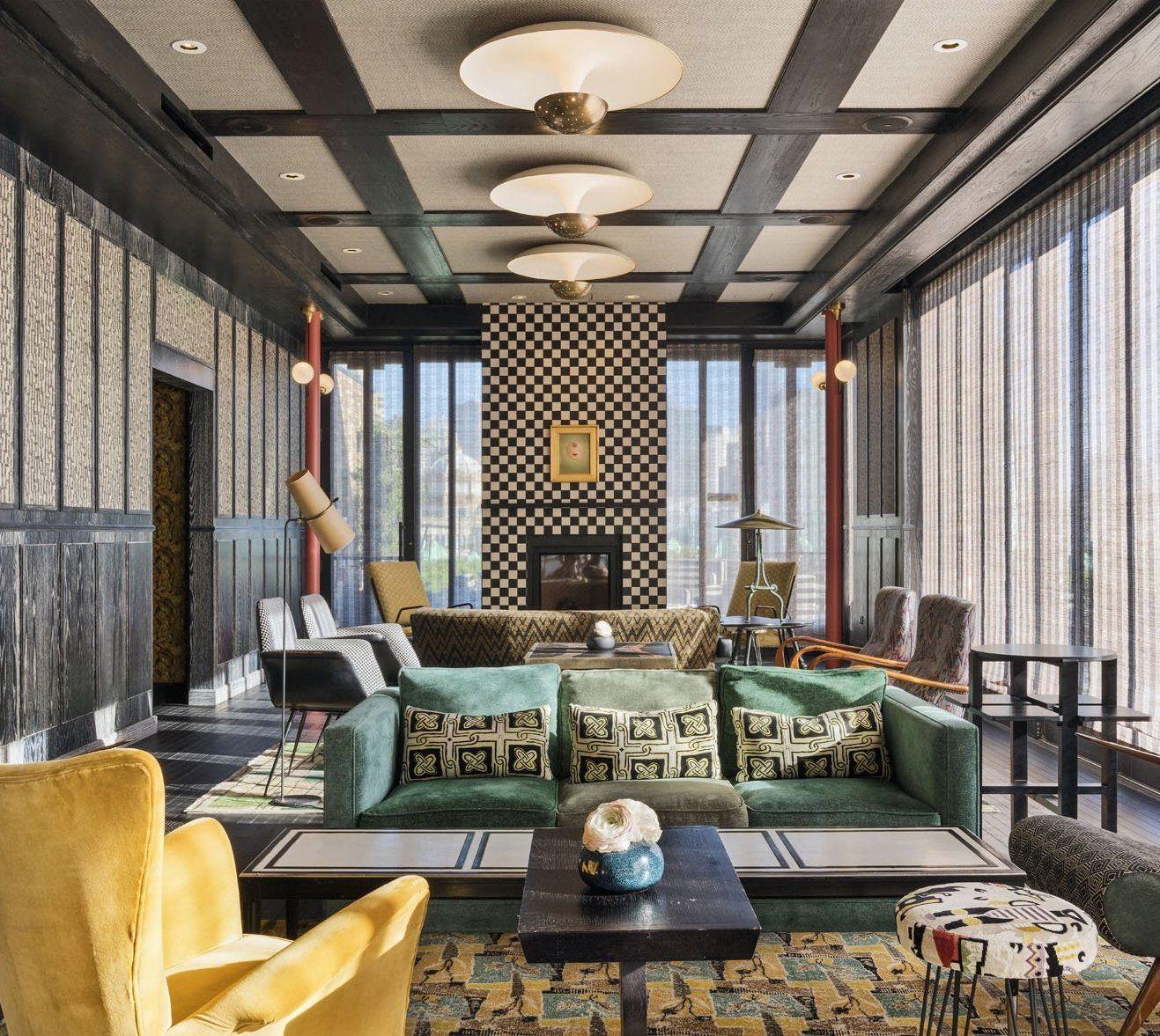 Kelly Wearstler Bar Design Charmaine S At San Francisco Proper Hotel In 2020 Kelly Wearstler Interiors Interior Design Trends Los Angeles Interior Design