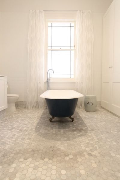 Modern Country Style: MCS loves.....hexagonal mosaic tiles Click ...