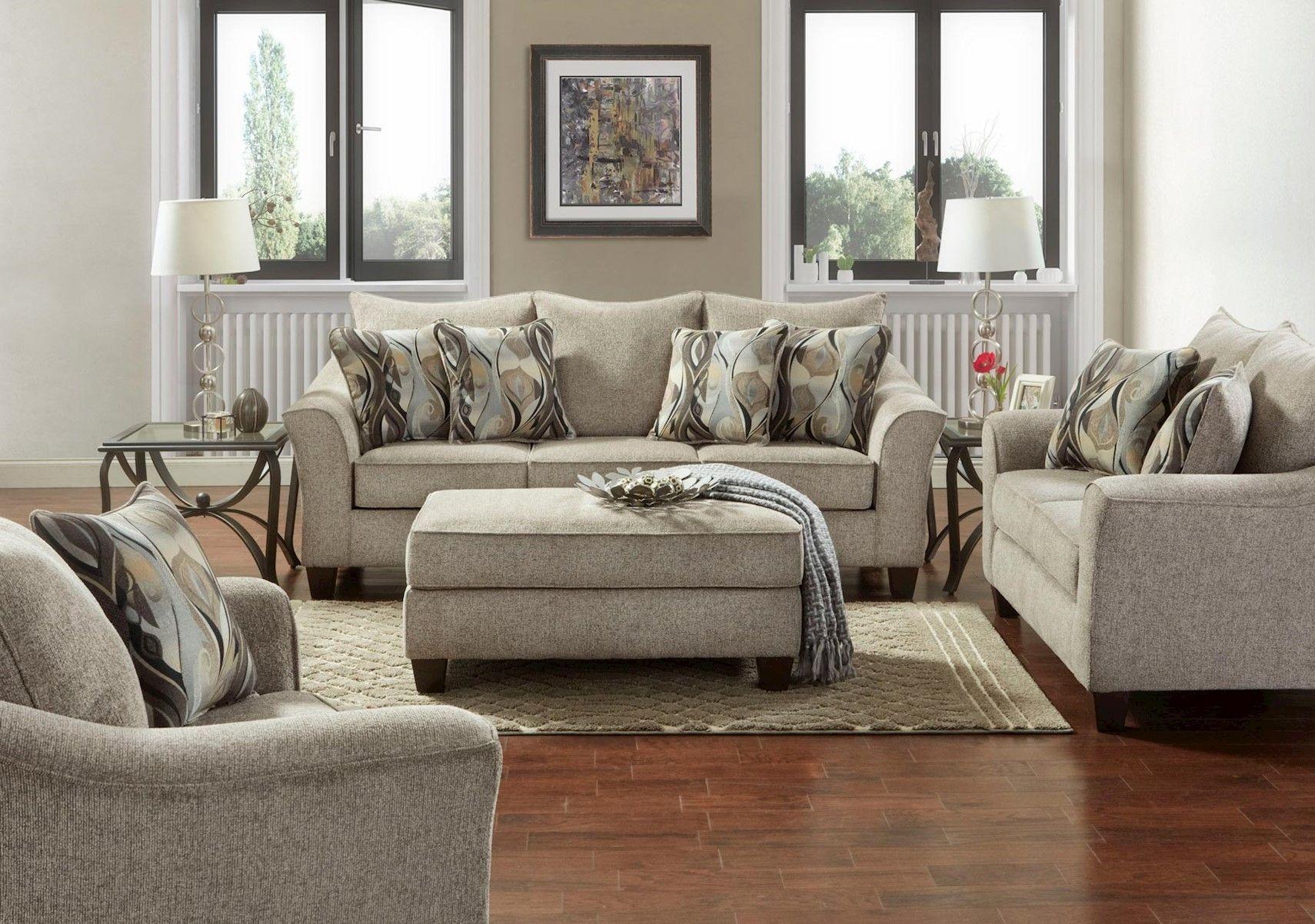 Lacks Camero Platinum 4 Pc Living Room Set 4 Piece Living Room