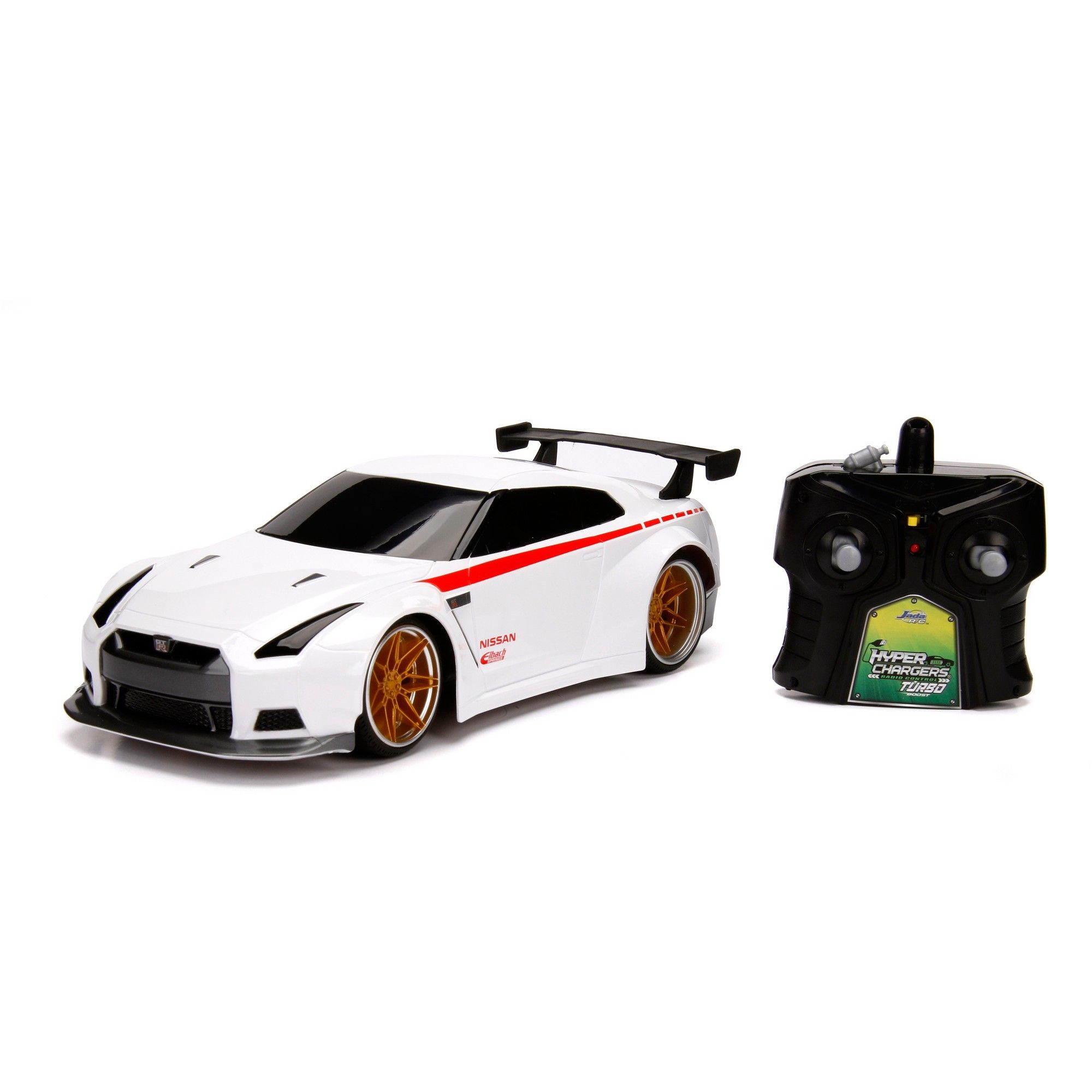 Jada Toys JDM Tuners RC 2009 Nissan GTR (R35) Remote