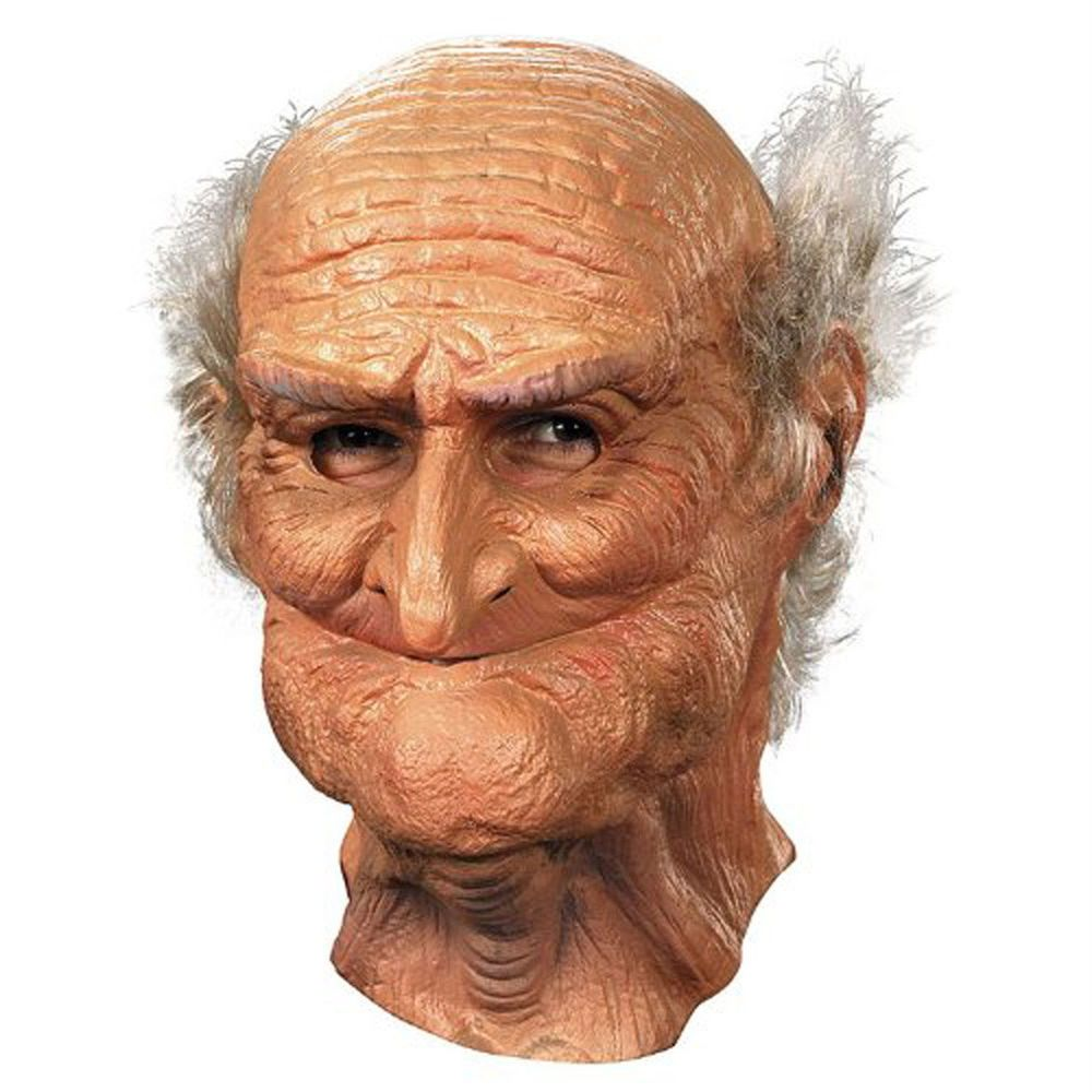 Old Man Mask Adult Oldie Guise Halloween Creepy Funny Realistic ...