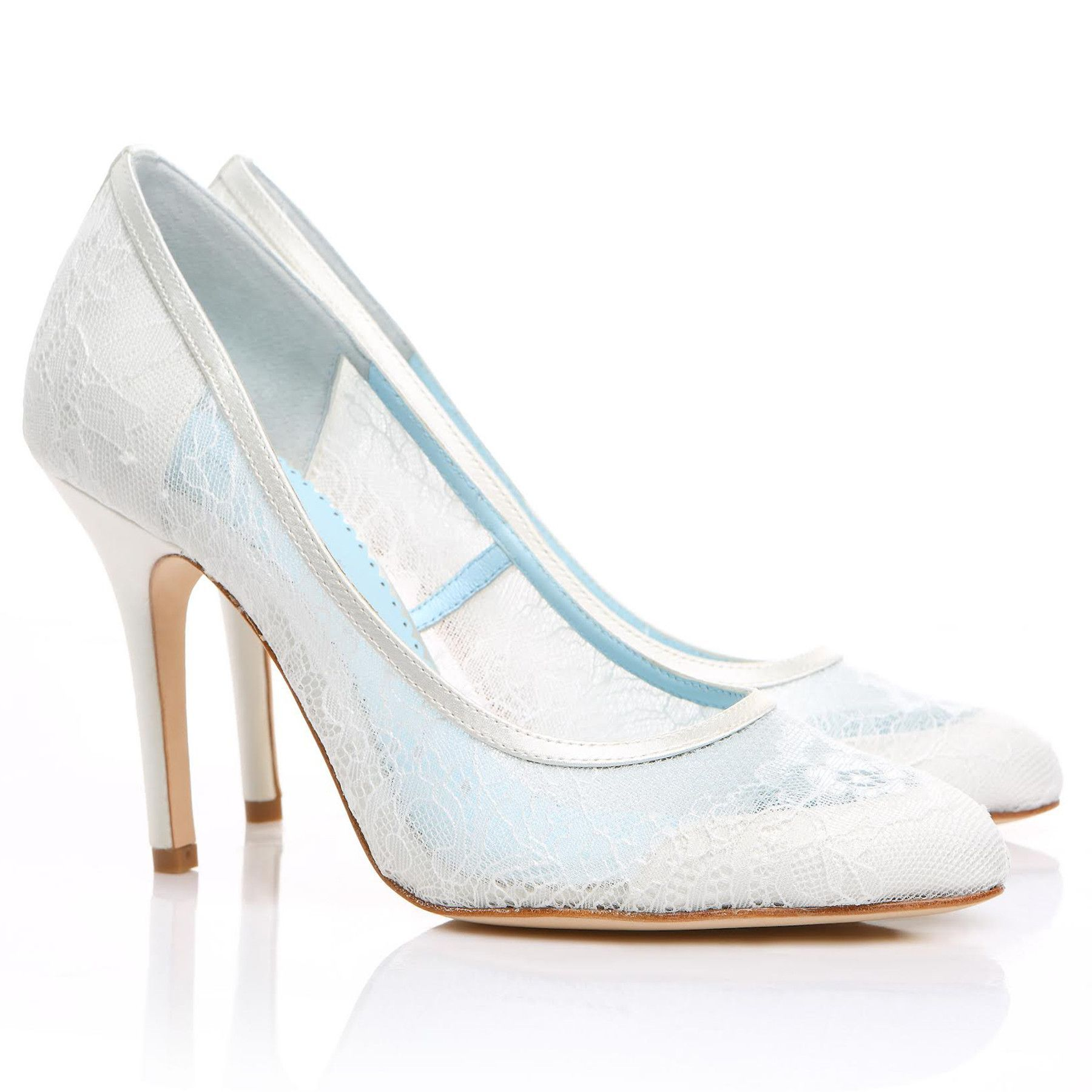 Millie white wedding heels bridal collection and products